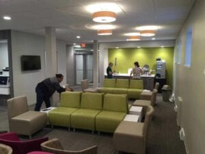 Cleveland Eye Clinic Office Interior